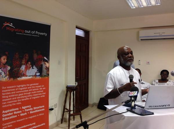 Prof Karikari discusses reporting on migration in West Africa http://t.co/KlmQBjfvK5