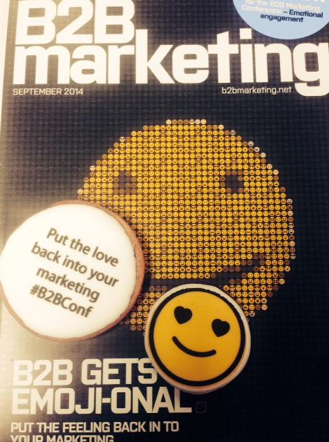 Who's received our emoji cookies with this month's mag? http://t.co/gHd07RONhg Can't wait to tuck into mine! #B2BConf http://t.co/togNQULgwq