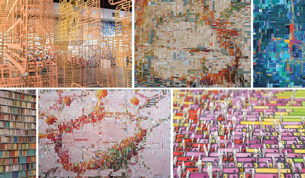 Art made from self-tracking data, check out artist Laurie Frick https://t.co/WGUSuu21D3 http://t.co/lNaFcIR097