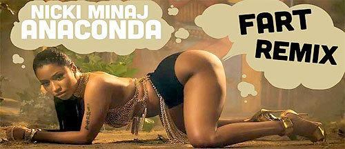 "Here's The Nicki Minaj ""Anaconda"" Fart Remix You've Been Waiting For http://t.co/VXvB5FgHr4 http://t.co/zHfOXXaLGY"