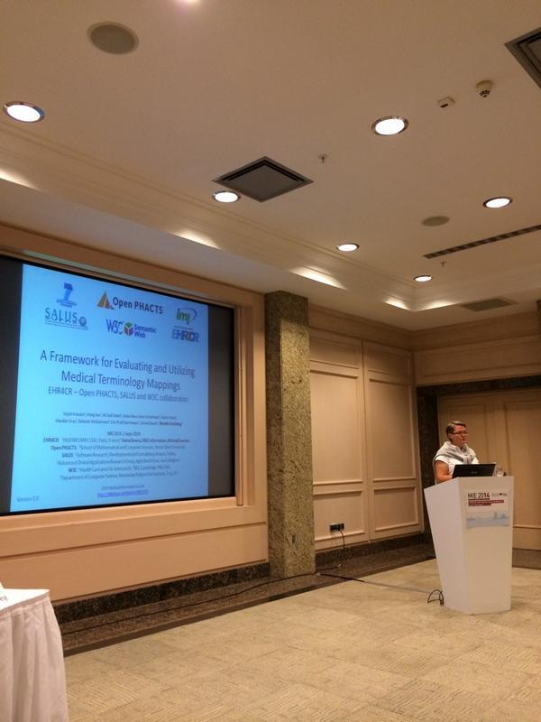 Kerstin Forsberg presenting at MIE 2014
