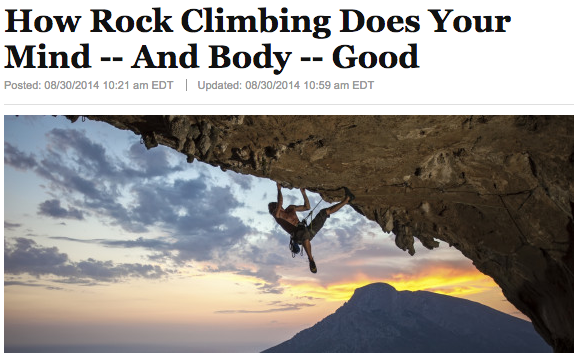 Rock climbing is good for the mind & body. If you don't know, now you know, #climber: http://t.co/KmAqkMVVnx http://t.co/hAhaf26u9h