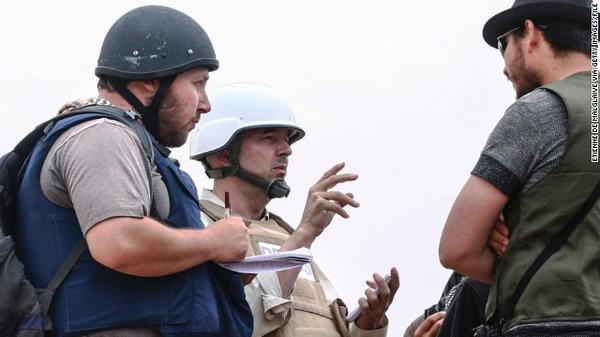Remembering Steven Sotloff for the brave journalist he was. http://t.co/XLo2xjKHxD #RIP. http://t.co/7JCRePqXrs