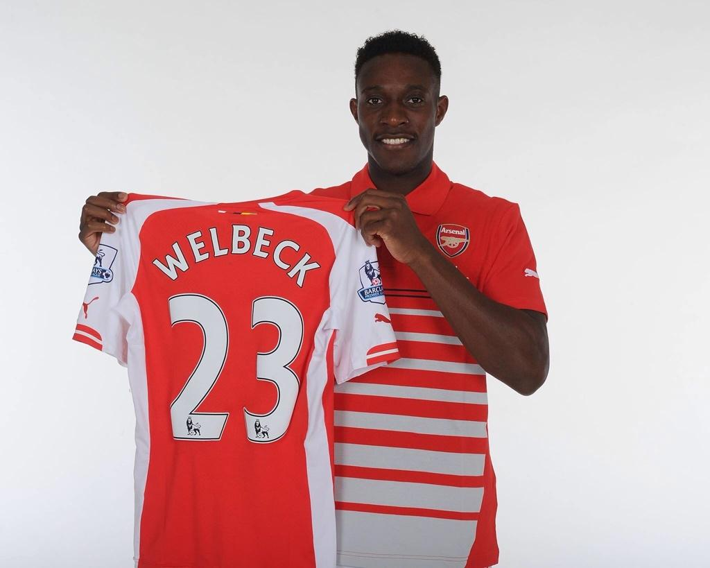 Ex Man United man Danny Welbeck has first photoshoot in Arsenal kit [Pictures]
