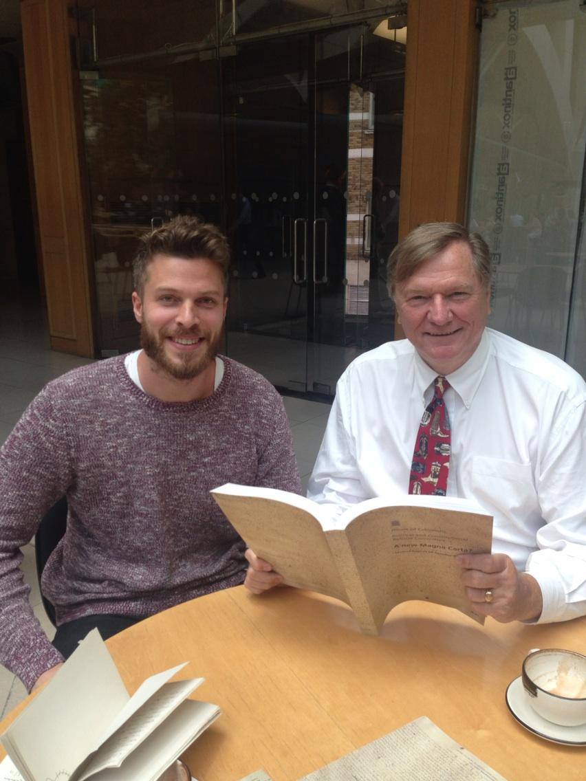 RT @GrahamAllenMP: @rickedwards1 telling me how to get young people involved with a new Magna Carta - how would you do it? http://t.co/jEoo…