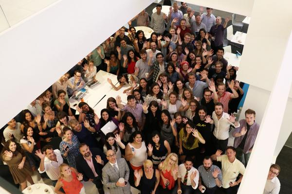 Hello from the new @Mashable office! http://t.co/NiYPdSQGxM http://t.co/WKzRFq9l18