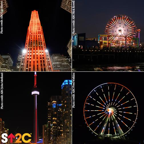 RT @SU2C: These 4 landmarks in US & Canada showed their support for #SU2C by lighting up in our colors! http://t.co/waMbun3oqw http://t.co/…