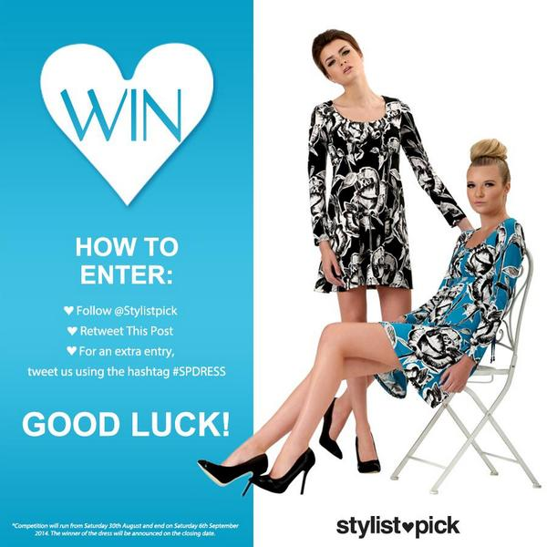 Win yourself an exclusive dress from Izabel! Simply FOLLOW @stylistpick and RETWEET this post now! http://t.co/NDurC1mxiT