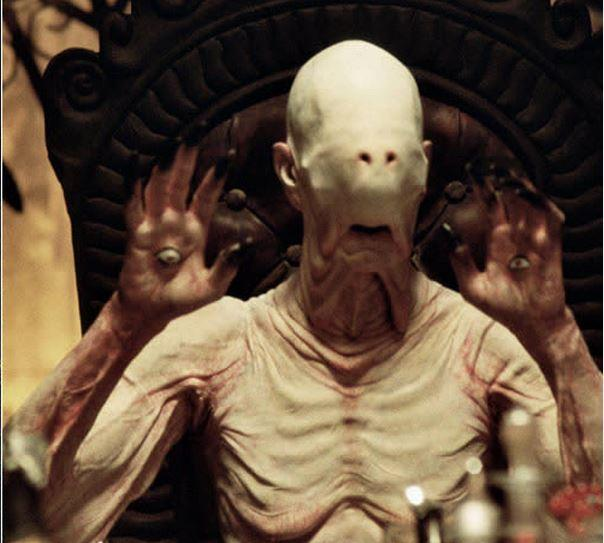 The Pan's Labyrinth Pale Man creeps me out. Monster Monday labored to become Tuesday Terrors http://t.co/GfPCzQws94 http://t.co/Aue82GHmpD