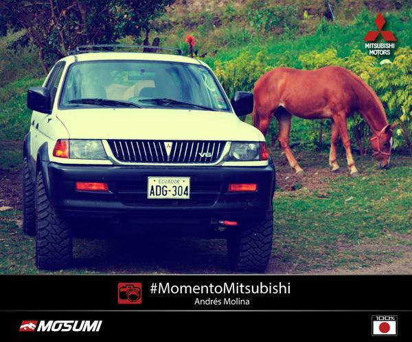 #MomentoMitsubishi: Andrés Molina nos compartió una foto de su #Mitsubishi Montero Sport. http://t.co/ncHcWrSZ99