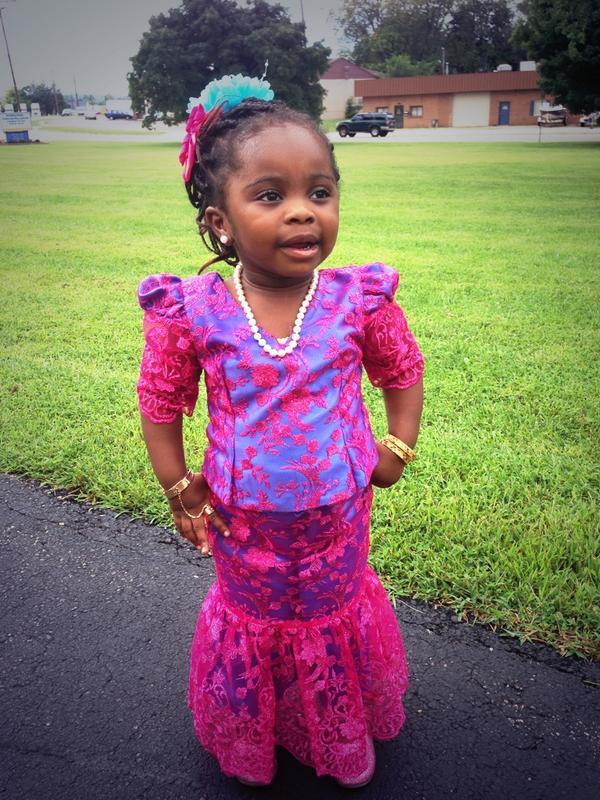 @BEAUTIEAFRICANS babies in african wear