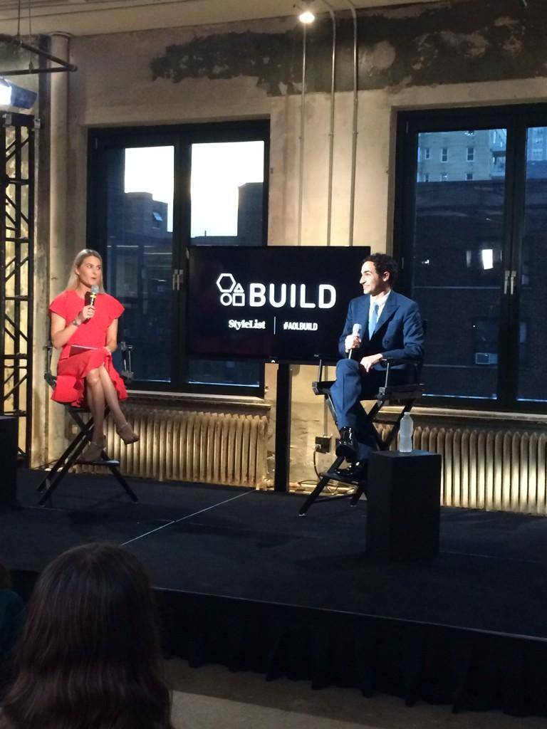 That's a wrap for @Zac_Posen and @AOLBUILD! Loved having you at @AOL tonight #NYFW http://t.co/2dtbRwF5Mw