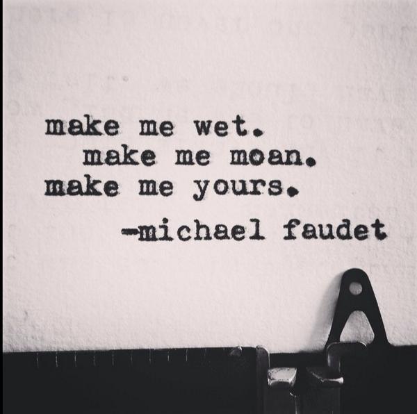 Make me moan
