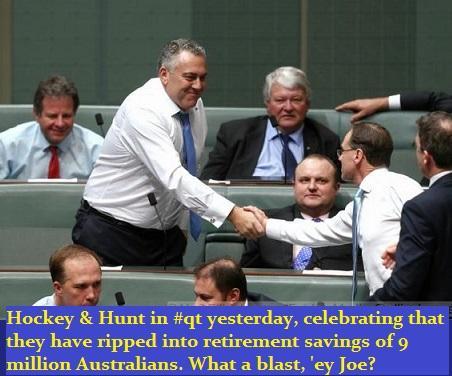 "Sloppy Hockey happy to rip off 9 million Australians. RT @ChristineEwing7 #auspol http://t.co/ao5ztthpNy"""