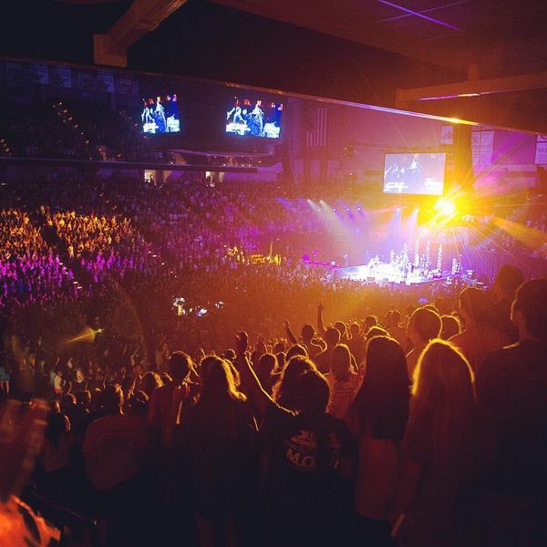 No words to describe tonight.  Just JESUS. #1stBreakaway http://t.co/OGFIcdq42c