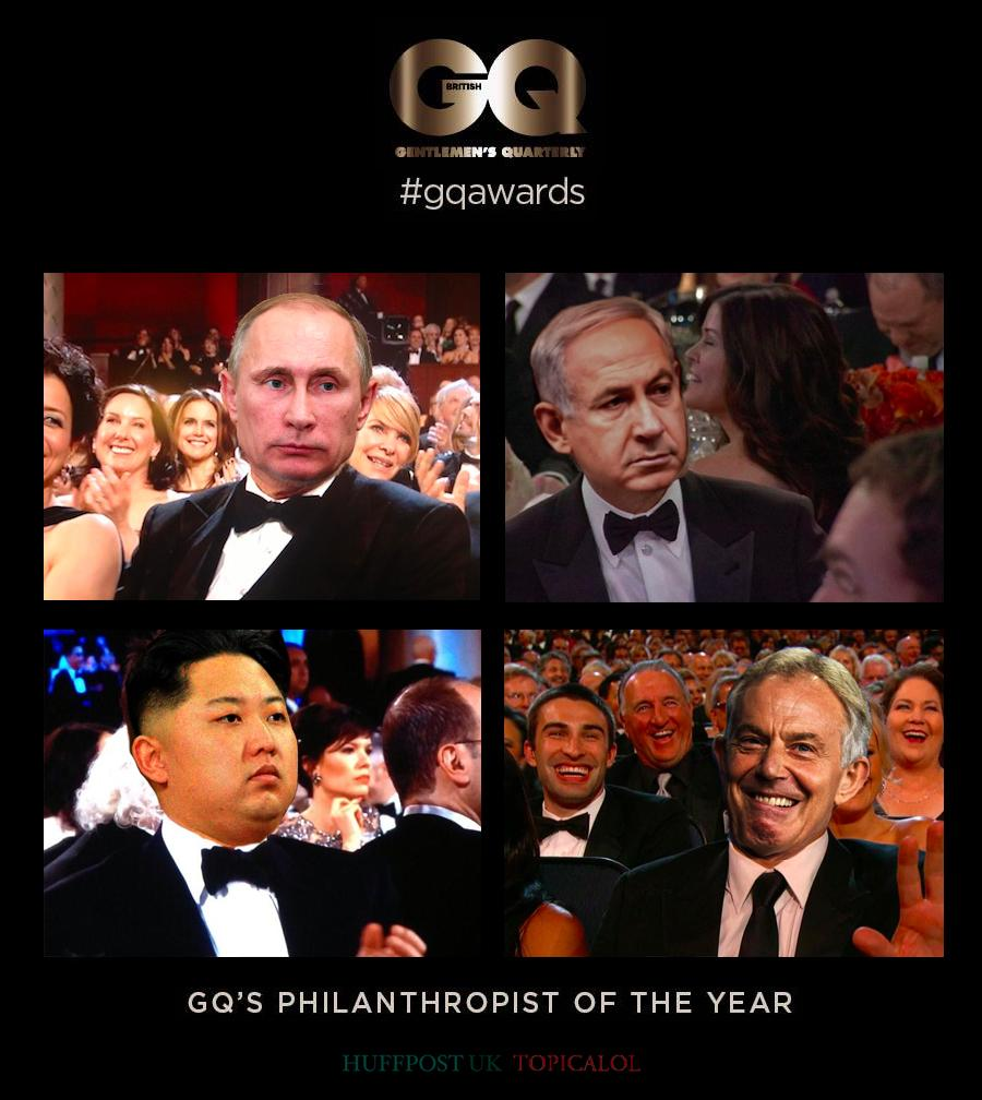 Gutted for those who lost out to Tony Blair at the GQ Awards (done for @HuffPostUKCom) http://t.co/FUh5HY5vdw http://t.co/4uN7Jj2kdh