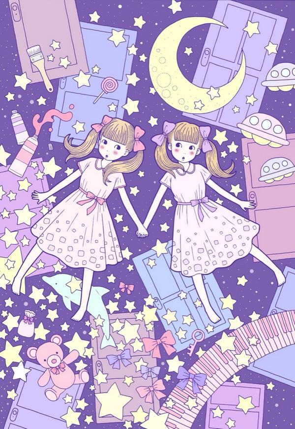徳田有希お絵かきbot On Twitter 前に描いた絵をデジタル着色しま