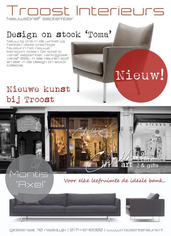 nieuwsbrief interieur wonen design woonnieuws designonstock montis httptcooclhhyvlpm