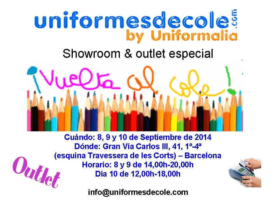 Showroom & Outlet Vuelta al Cole