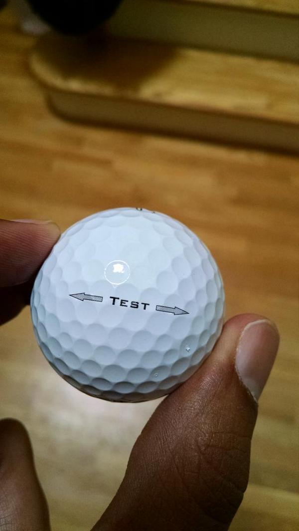 new titleist test golf balls. Black Bedroom Furniture Sets. Home Design Ideas