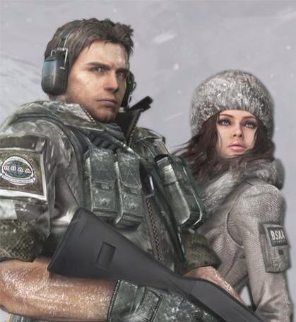 chris redfield jill valentine nackt