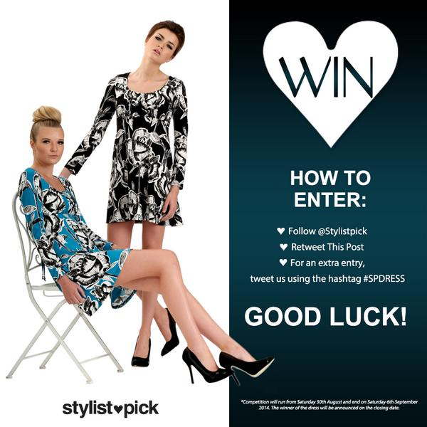 Entered our competition yet? Simply FOLLOW @Stylistpick and RETWEET this post to win a dress! http://t.co/NDurC1mxiT http://t.co/k2oOVAtfC7