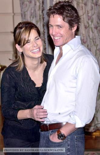 """Sandra Bullock Web on Twitter: """"Sandra Bullock and Hugh"""