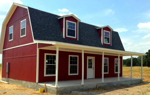 Tuff shed on twitter this 26x36 2 story custom barn for Two story shed house