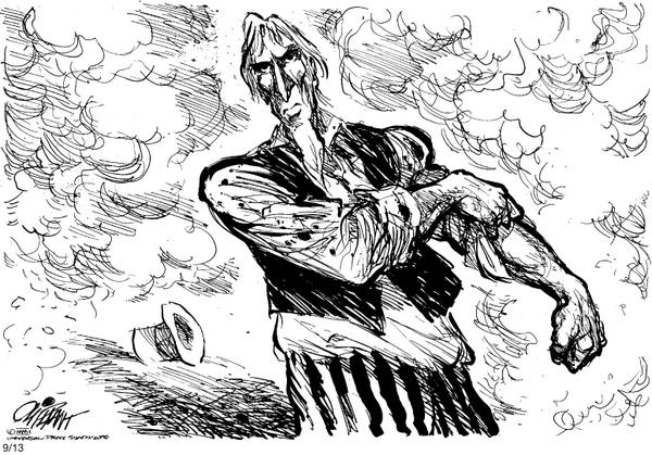 Legendary Cartoonist Pat Oliphant: 'We Are in a Forest Fire of Ignorance' http://t.co/2CHDkBo7jX http://t.co/SrLCEiV1V1