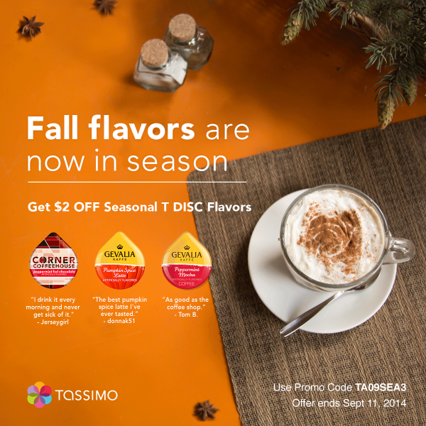 Seasonal T DISCs are back! Get $2 off when you use promo code TA09SEA3 http://t.co/XmewrHe8he http://t.co/QQdJN9rTag
