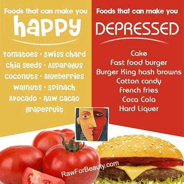 Foods That Make You More Depressed