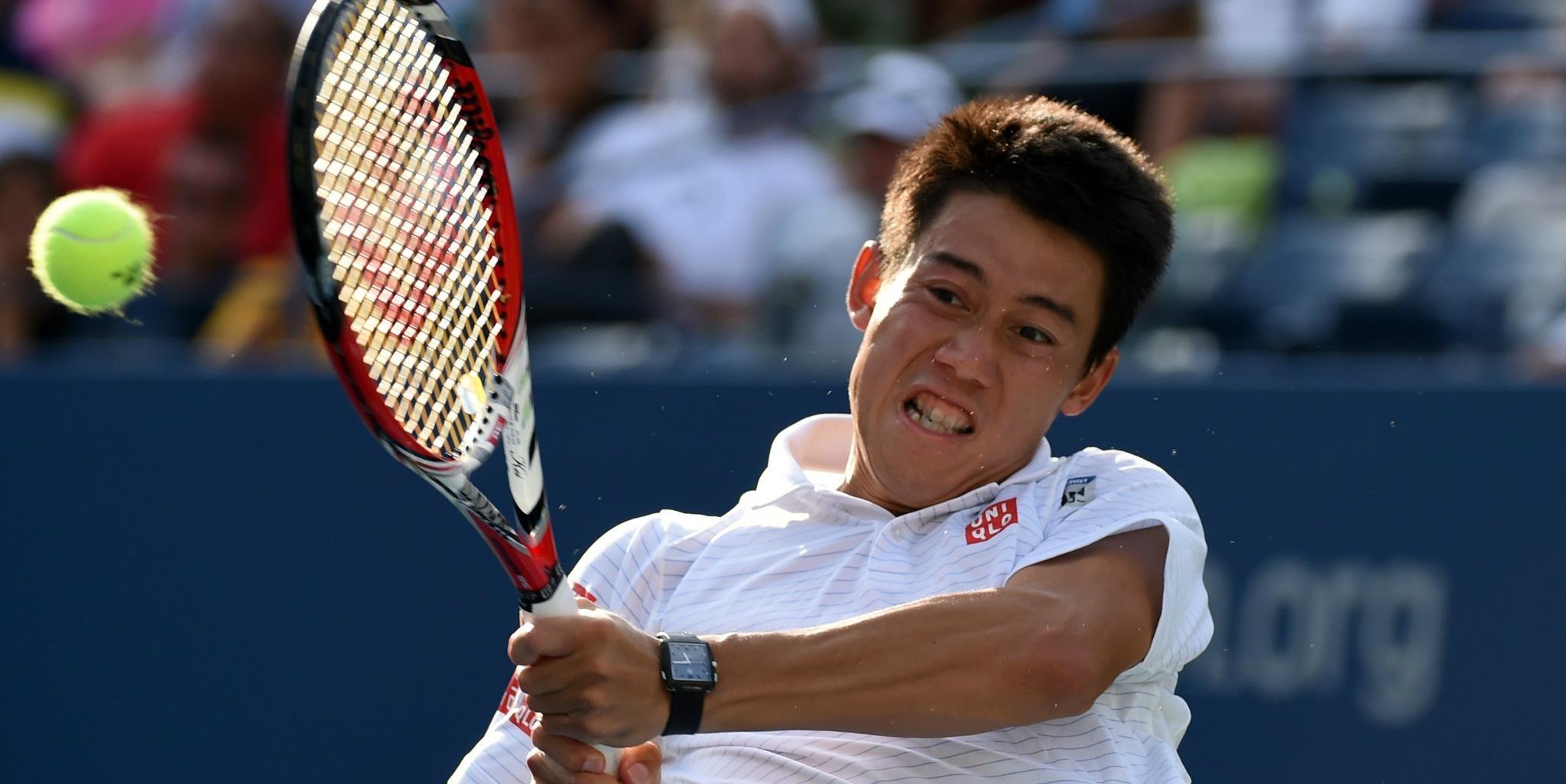 Nishikori - US Open '14 - pbs.twimg.com