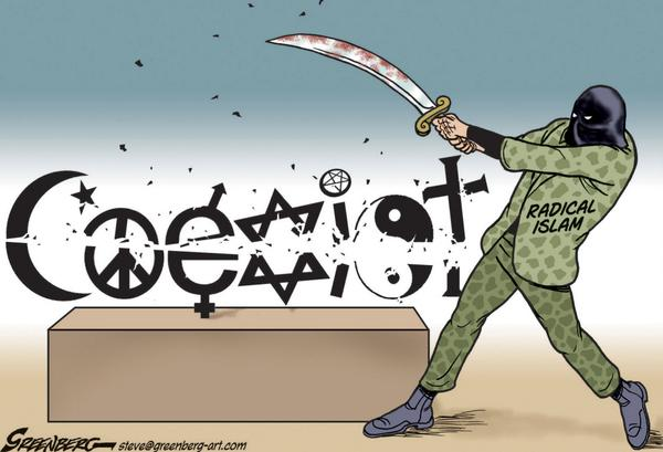 #ISIS #ISIL #IslamicState #Hamas #AlQaeda #MiddleEast #Cartoon http://t.co/gMJt8zSeZc