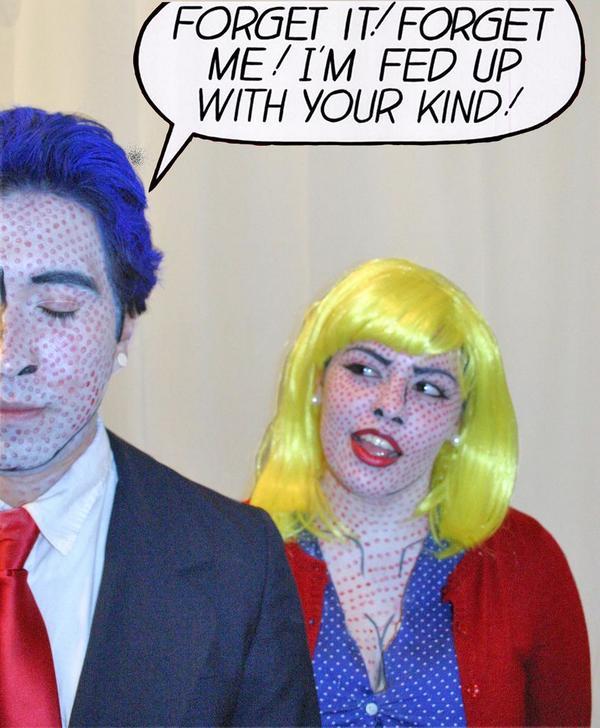 Roy Lichtenstein Halloween Costume.Roy Lichtenstein On Twitter Exquisite Halloween Costumes