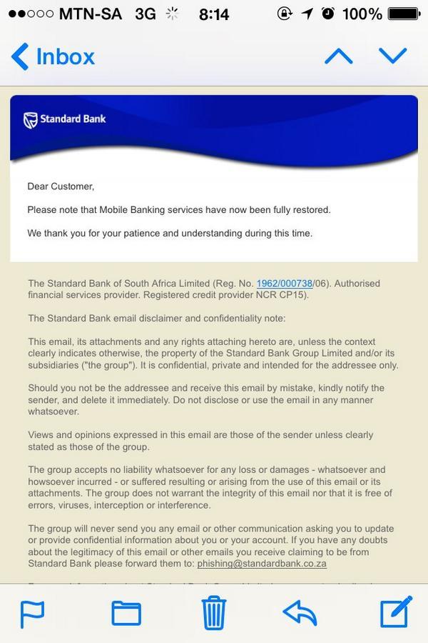 Standard Bank SA on Twitter: