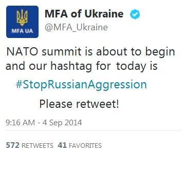 МЗС запустив Твітер-штурм #StopRussianAggression http://t.co/magUPP5F71 http://t.co/6d7beJ9HKi
