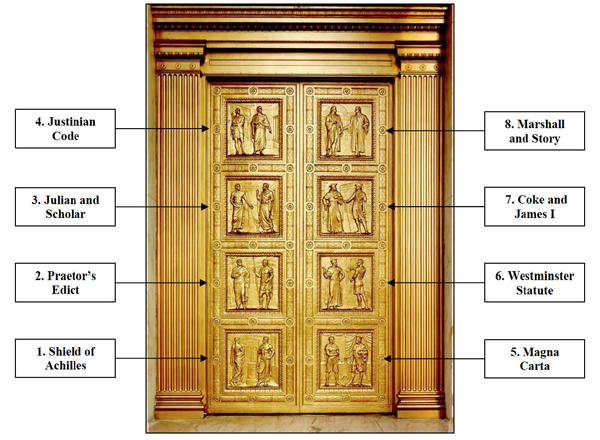 MAGNA CARTA CANADA on Twitter  Bronze doors of the Supreme Court in Washington depict key moments in the development of the rule of law #MagnaCarta ...  sc 1 st  Twitter & MAGNA CARTA CANADA on Twitter: