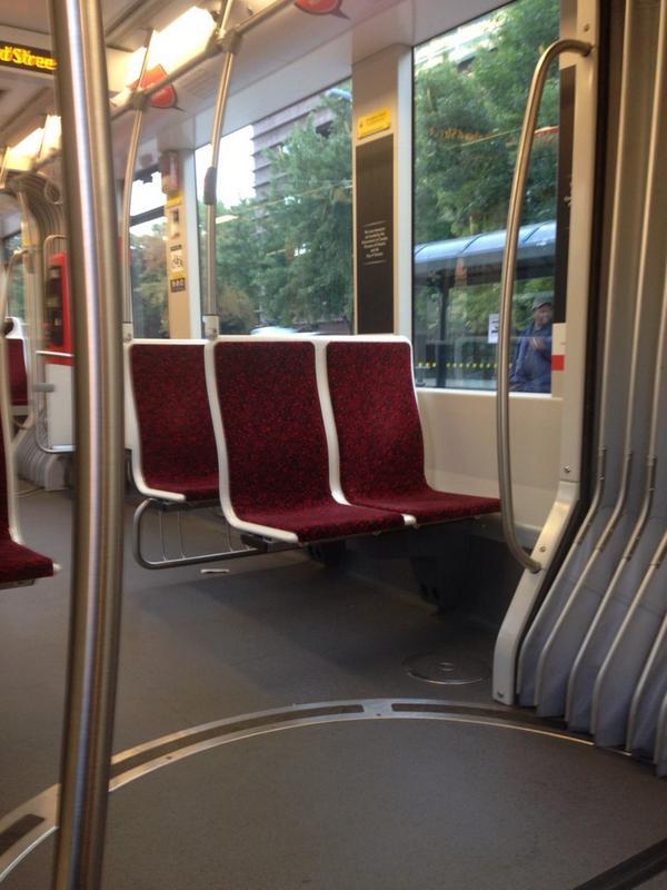 1st new streetcar ride! #ttc #prettysweet