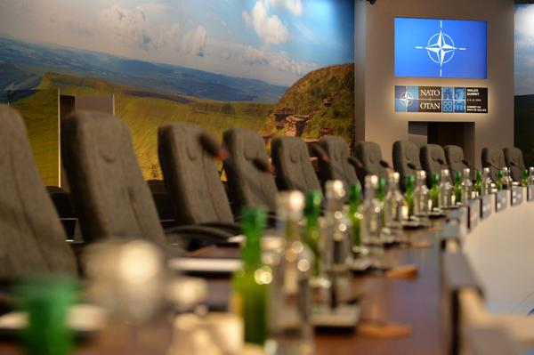 World leaders will soon be filling this room for the start of #NATOSummitUK. More on #NATO: http://t.co/0947nx2xeL http://t.co/VJkAeb7I7C