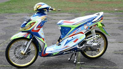 Top modifikasi motor matic yamaha