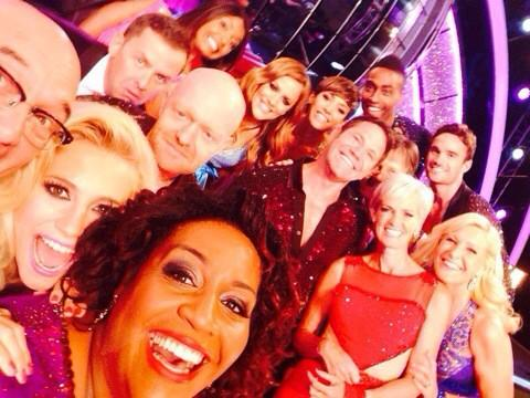 """@AlisonHammond2: My best selfie this week @bbcstrictly http://t.co/xc9KmrT1GE"" fab! SO proud of you tonight lady - Ali & Ali to win"