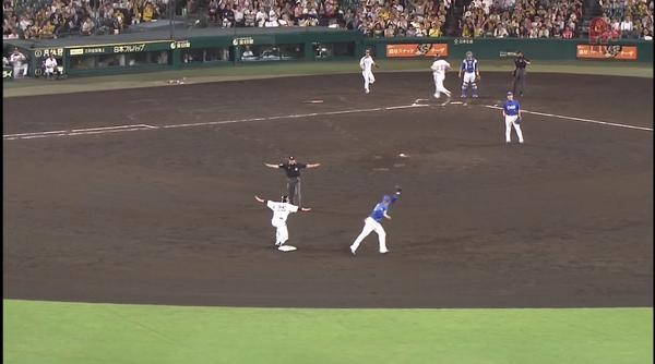 【画像】新井さん、セーフアピール!: トラニュース