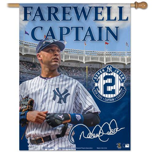 Jeter Day this Sunday. Free shipping on all @Yankees gear. Enter code SHORTSTOP at checkout. http://t.co/tPAN73ijGx http://t.co/WqAI2nqJ7S