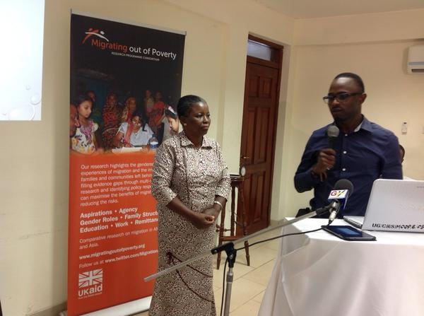 Dr Delali Badasu @cms_ug chairs #cmswanjom discussion @MigrationRPC http://t.co/mUyCrzkzh8