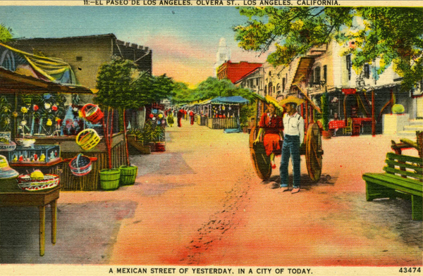 Happy Birthday Los Angeles (officially founded Sept 4, 1781)! Postcards from @lmulibrary: http://t.co/pFFONZUjAA http://t.co/o1jMeswv0b