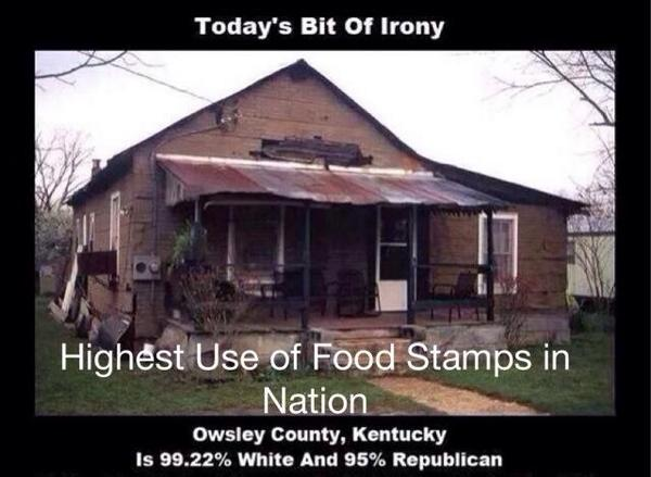 """@TheBaxterBean: BREAKING: Mitch McConnell: 'The poorest place in America will remain in Kentucky' http://t.co/KTQp0YtjNl"" @TheJimCornette"