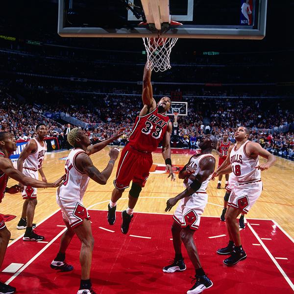 Miami Heat On Twitter Zo Dunks Over Dennis Rodman And Michael