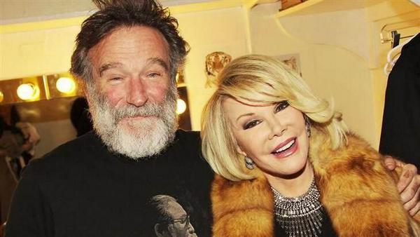 #RIPJoanRivers second amazing comedian to die this year!