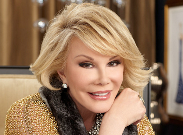 We're very sad to share that Joan Rivers has passed away. Our hearts go out to her family. http://t.co/NhLAWNwlLz http://t.co/pbULbILrjC