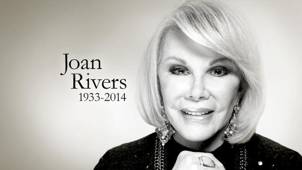 "RIP RT @NBCNews: Melissa Rivers: ""My mother's greatest joy in life was to make people laugh."" http://t.co/wElDDuxYNQ http://t.co/09KgLuiJgu"